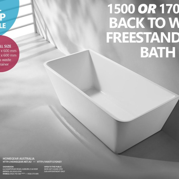 1500mm-1700mm-Back-to-Wall-Freestanding-SQUARE-Acrylic-Bath-Tub-Free-Standing-252594495957