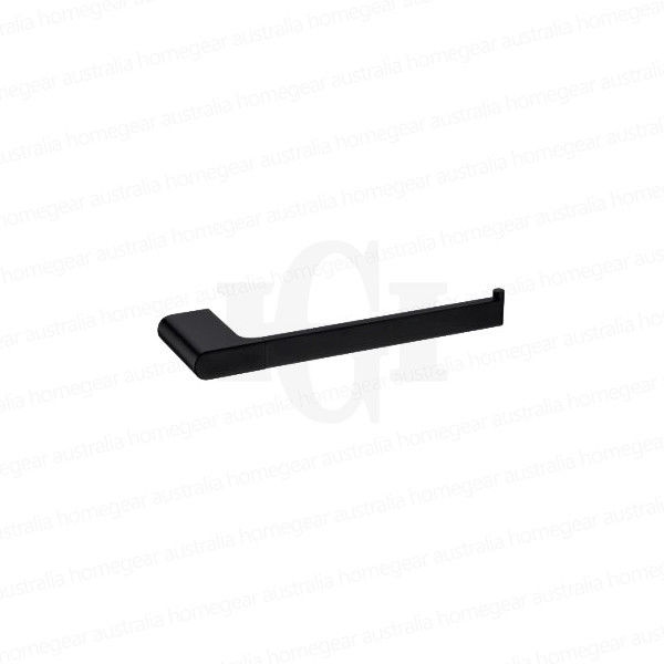 Modern-RoundOval-MATTE-BLACK-Wall-Mount-Hand-Towel-Holder-Bathroom-Accessories-253417796917