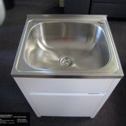 45L-Stainless-Steel-Laundry-TubSink-w-WATERRUST-PROOF-PVC-Soft-Close-Cabinet-252520533118-5