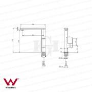 ETTORE-Square-CHROME-Tall-L-Shape-180-Swivel-Vessel-Basin-Kitchen-Laundry-Mixer-253125571618-2
