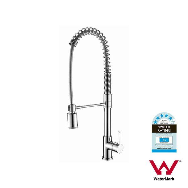 Large-Premium-Polished-Chrome-Round-Pull-Down-Flexi-Spray-Spring-Kitchen-Mixer-252953014178