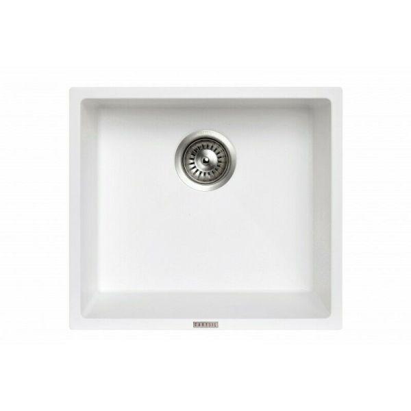 Magic-Salsa-457x-406mm-German-Engineered-White-Granite-KitchenLaundry-Sink-254595573908