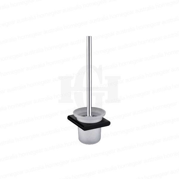 Modern-RoundSquare-Matte-Black-Wall-Mount-Glass-Toilet-Brush-Holder-Set-253417772558