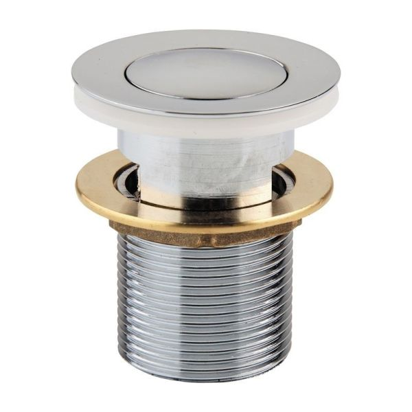 Round-32mm-Chrome-Pop-Up-Basin-Sink-Waste-Plug-with-Overflow-40mm-adaptor-AU-252530311238