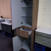 1680mm-Walnut-Oak-Timber-Wood-Grain-Bathroom-Tallboy-Side-Cabinet-Soft-Close-252942786829-2