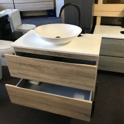 BOGETTA-900mm-White-Oak-PVC-THERMAL-FOIL-Timber-Wood-Grain-Vanity-w-Stone-Top-252859776789-8