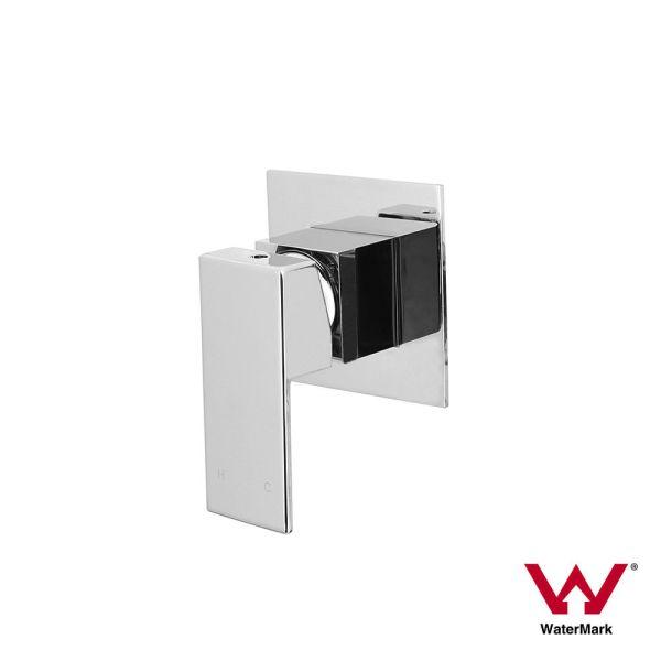 ETTORE-Small-Square-Chrome-Wall-Shower-Bath-Mixer-80mm-Ultra-Slim-Back-Plate-253336475709