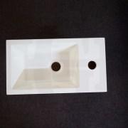 MINI-Compact-400mm-White-Gloss-Polyurethane-Small-Slim-Narrow-Ensuite-Vanity-253261469289-10