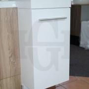 MINI-Compact-400mm-White-Gloss-Polyurethane-Small-Slim-Narrow-Ensuite-Vanity-253261469289-2