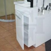 MINI-Compact-400mm-White-Gloss-Polyurethane-Small-Slim-Narrow-Ensuite-Vanity-253261469289-3