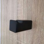 Modern-Square-MATTE-BLACK-Wall-Mount-RobeTowel-Hanger-Hook-Bathroom-Accessories-252660907249-5