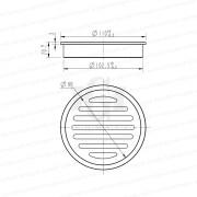 Premium-Electroplated-Round-Matte-Black-Floor-Waste-Grate-Drain-253110704369-2