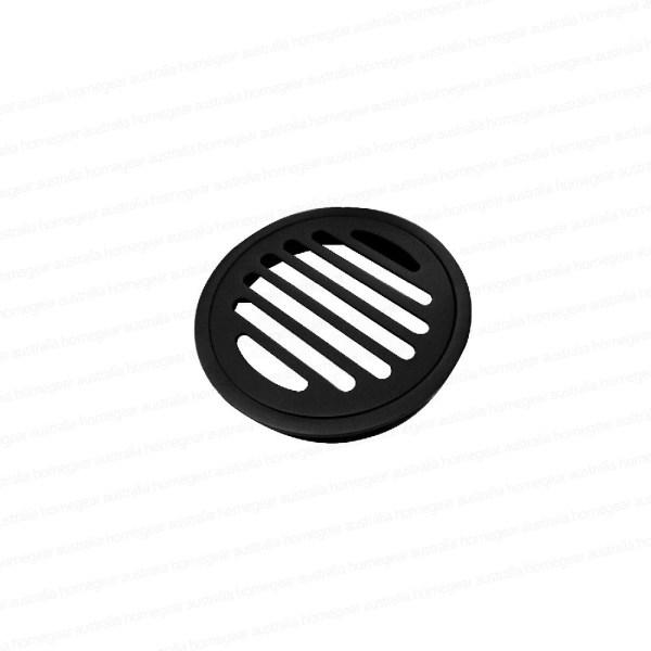 Premium-Electroplated-Round-Matte-Black-Floor-Waste-Grate-Drain-253110704369