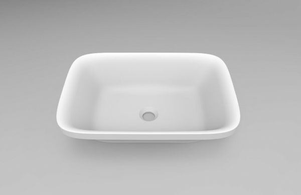 Rectangle-Matt-White-Solid-Surface-Stone-Pure-Acrylic-Semi-Recessed-Art-Basin-254142057379