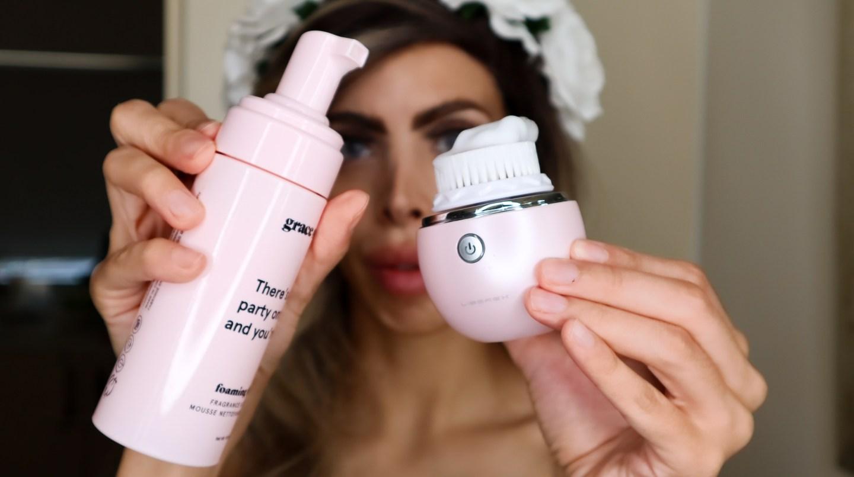 Liberex Egg Vibrating Facial Cleansing Brush review