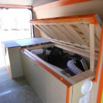 VanLife Bed Storage for sale