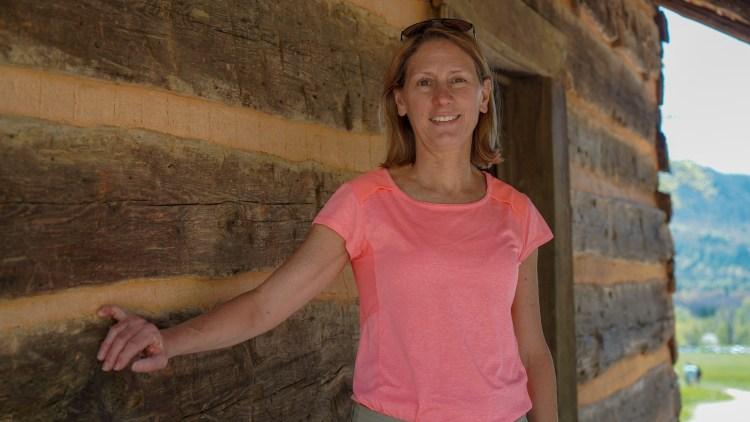 Log Cabin at Cades Cove