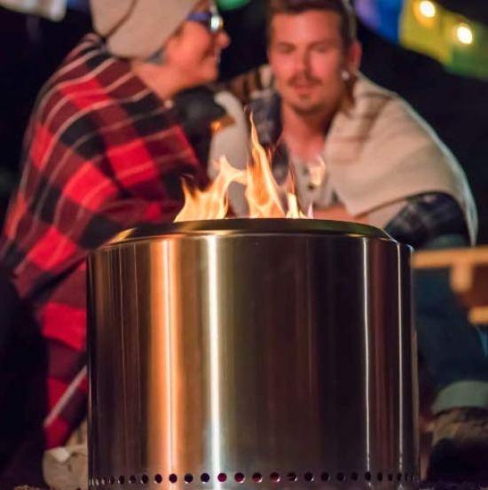 Solo camp stove