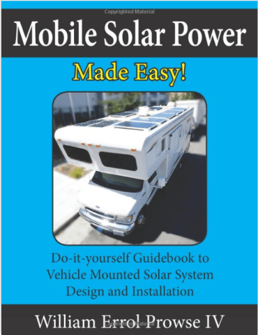 Installing solar power on your  Sprinter conversion van
