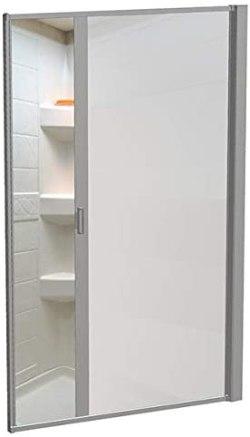 Nautilus Sliding RV Shower Door Sprinter shower door #sprinterconversionvan #vanlife #vanliving