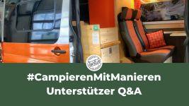 #CampierenMitManieren - Unterstützer Q&A