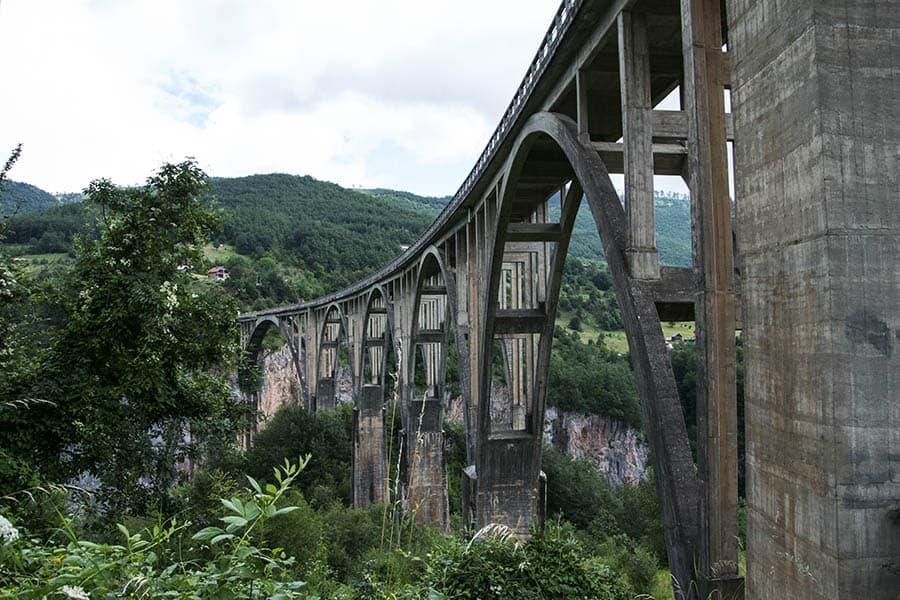 Montenegro - Tara Brücke