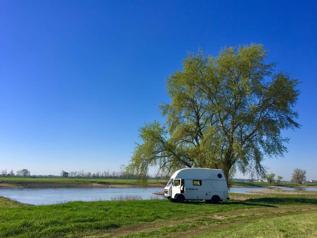 Mit dem Van ans Wasser - Unsere Top 6 Reiseziele an öffentlichen Gewässern