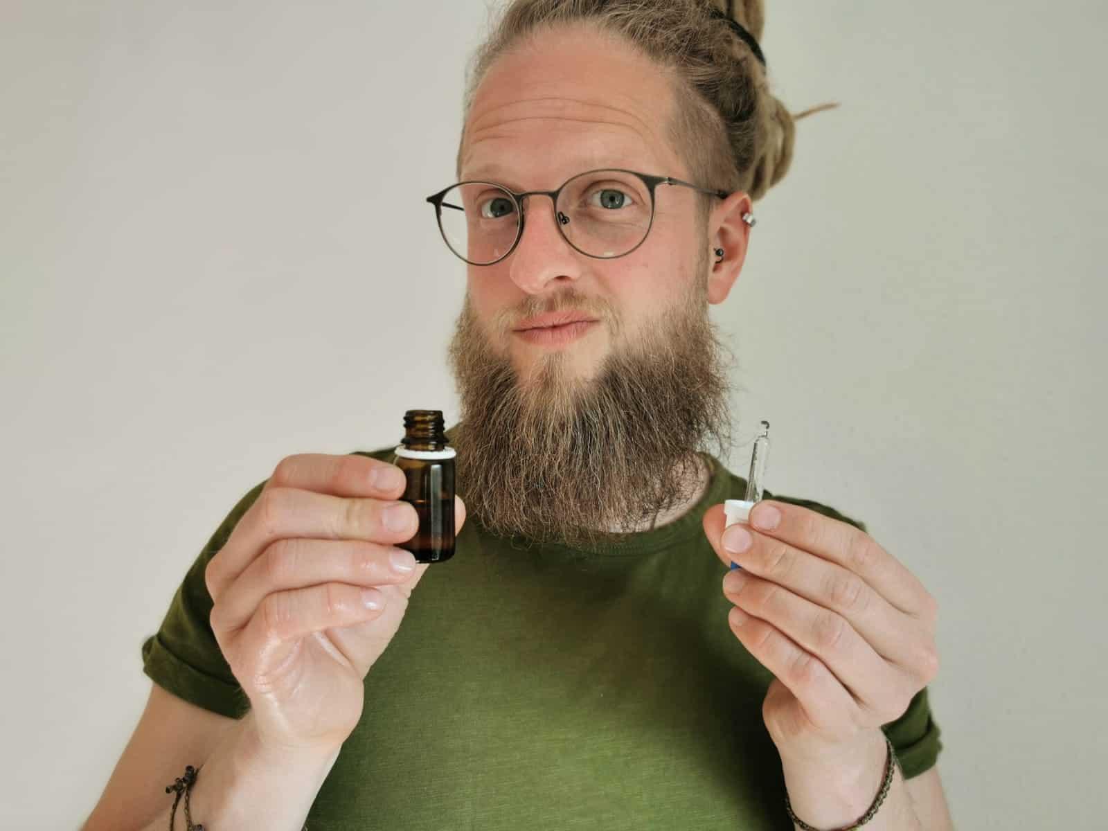 Öle für den Bart - Wie sie angewendet werden!