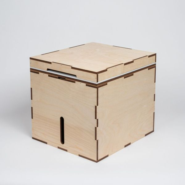 MicroLoo TrockenTrennToilette / Komposttoilette Bausatz - Kildwick