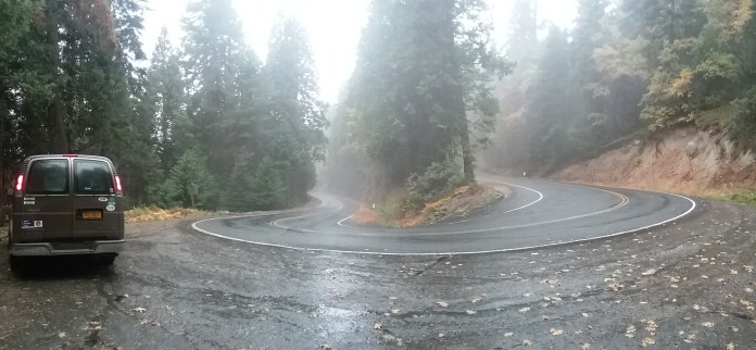 As if the campground weren't good enough, the road through Sequoia National Forest is equally stunning. FAITH MECKLEY