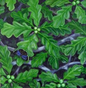 Oak Canopy with Purple Hairstreak