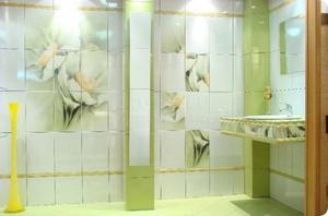 Керамическая (кафельная) плитка для ванной комнаты: виды и ...