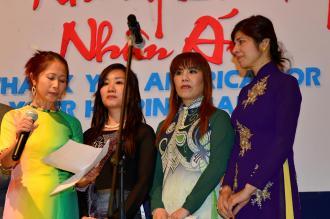 Hoàng Hà, Thiên Kim, Mỹ Tâm, Huyền Chi