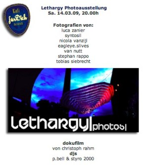 Lethargy Photoausstellung
