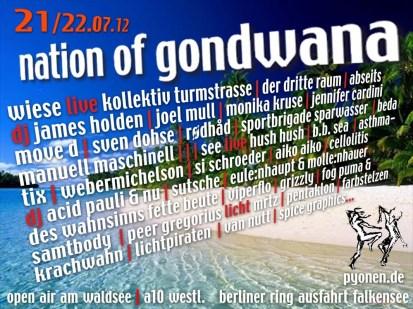 nation of gondwana 2012