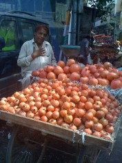Pomegranate man