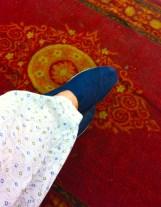 Foot of Navjot
