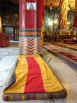meditation mats and tiger stripes