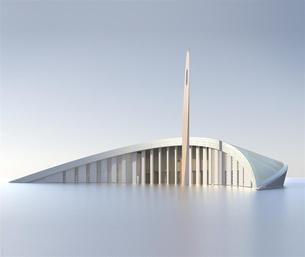 مسجد مدينة الملك عبدالله الرياضية | كثيب رملي هندسي