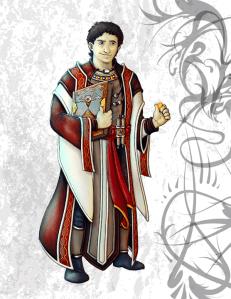 Kffir Hawkwing, Human Bard