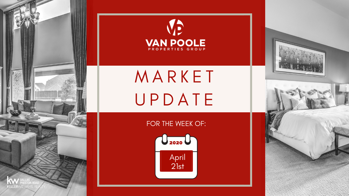 Market Update – April 21, 2020 – Dallas-Fort Worth Real Estate