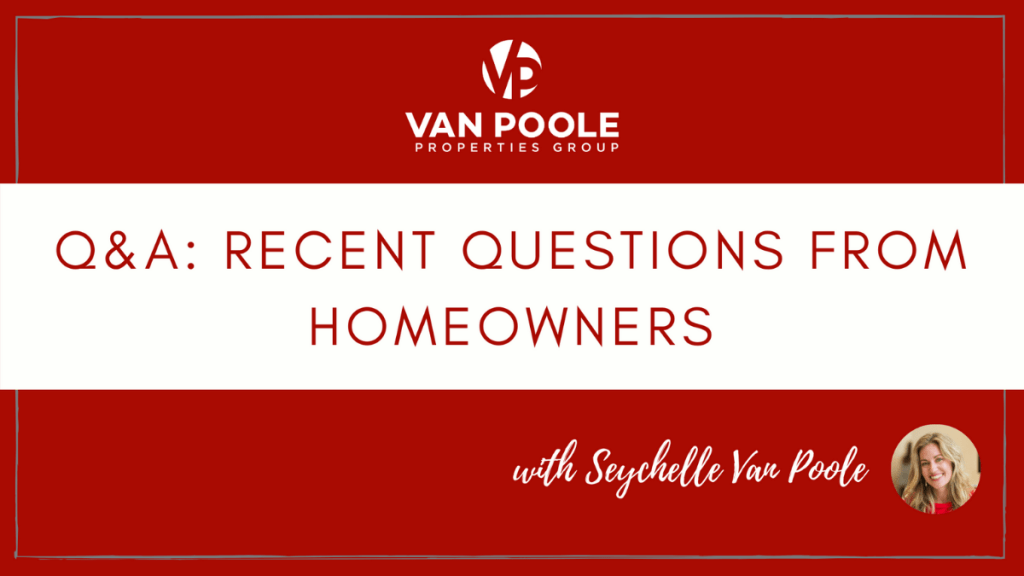 Questions from Homeowners