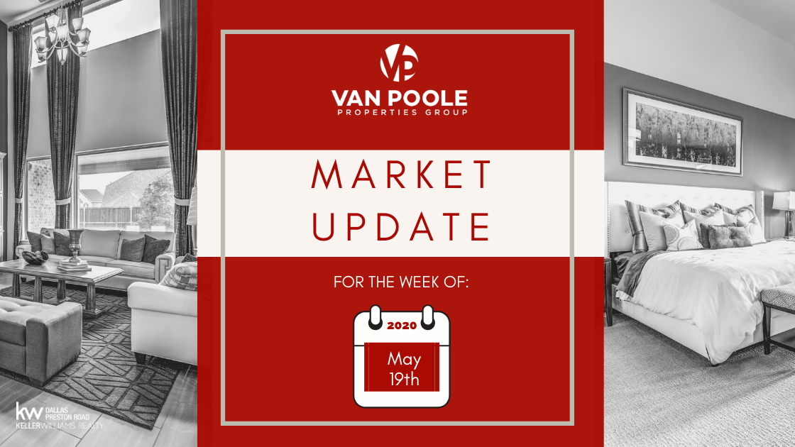 Market Update – May 19, 2020 – Dallas-Fort Worth Real Estate