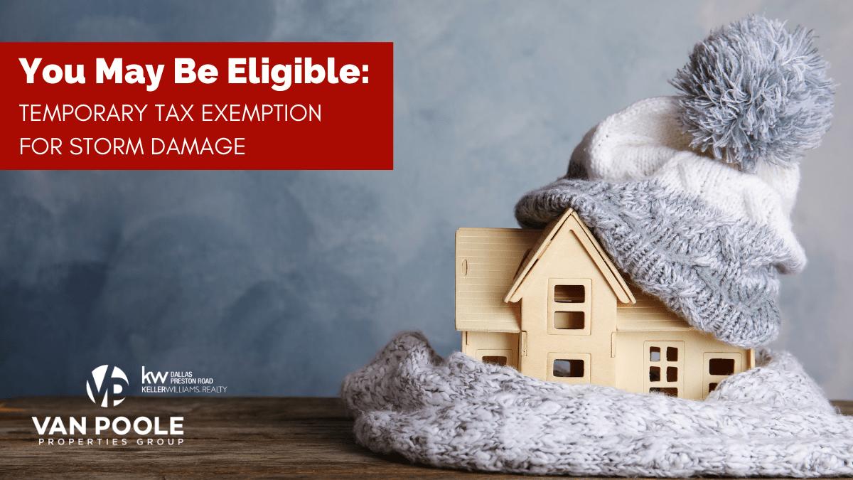 Storm Tax Exemption