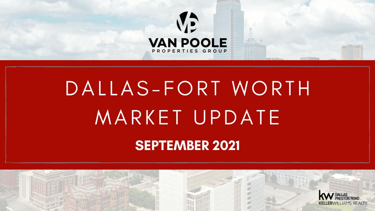 Dallas-Fort Worth Market Update – September 2021