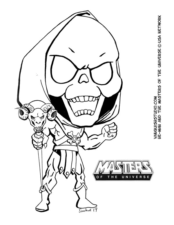 he man coloring pages # 13