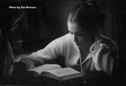 Reading by Window