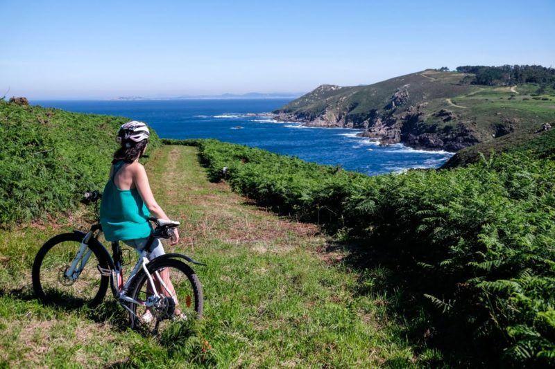 Isla de ons en bici