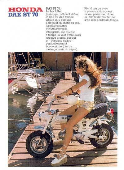 Monkey Honda dax réplica ST 70 anuncio