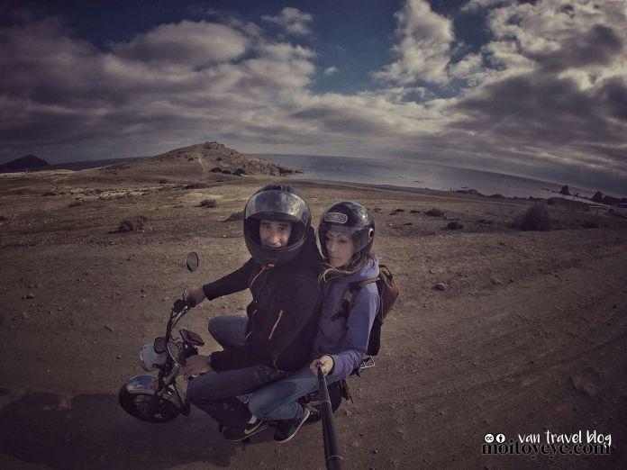 Replica Honda dax Cabo de Gata